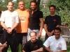 Ausfahrt Sommer 2005 hier nach Saschas Braungurtpruefung mit Si Fu Emanuel Bettencourt 2vr oben
