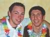 Si Hing Tobias und Si Hing Manuel beim feiern
