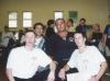 unmittelbar nach der 7-stündigen Schwarzgurtprüfung 2001 im SC Alstertal mit GM Al Dacascos Si Gung Hubert Wolf Si Hing Tobias und Si Hing Manuel