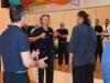 000 Bevor das Seminar begann gab es noch eine ganz besondere Ehrung. Klaus Nonnemacher verlieh dem Lehrer der Kung Fu Schule aus dem Alstertal den 9 Dan und somit auch Titel des Grandmastes der WKU