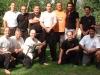 Ausfahrt Sommer 2005, hier nach Sascha's Braungurtprüfung mit Si Fu Emanuel Bettencourt (2.vr.oben)