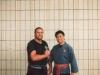Si Gung mit seinem Lehrer Grandmaster Al Dacascos