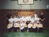 Die Kindergruppe im SC Alstertal.Links Si Gung Hubert Wolf, rechts hinten Assistenzlehrer Nils und Si Hing André. In der ersten Reihe sehen wir als 2. vl. Johannes mit seiner frisch erworbenen gelben Schärpe
