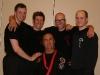 Si Gung Hubert Wolf mit den Si Hings Tobias, Manuel, Marvin und Lars