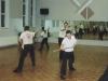 Während des Seminars von Shaolinmönch Junji 1999