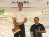 Erstes Turnier - Erster Platz. Thomas R. auf den Dacascos Open Championships